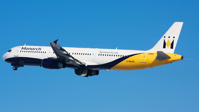 G-MARA - Airbus A321-231 - Monarch Airlines