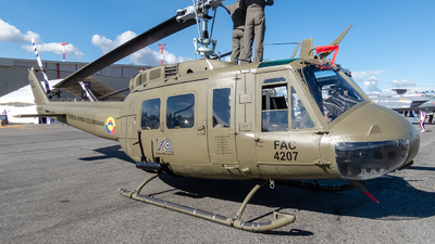FAC4207 - Bell UH-1H Iroquois - Colombia - Air Force
