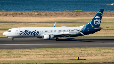 A picture of N287AK - Boeing 737990(ER) - Alaska Airlines - © Yan777