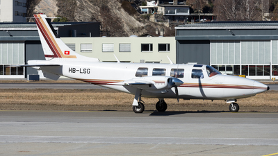 A picture of HBLSG - Piper PA60602P Aerostar - [608265033] - © Terry S.