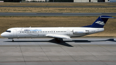 I-ALPQ - Fokker 100 - Alpi Eagles