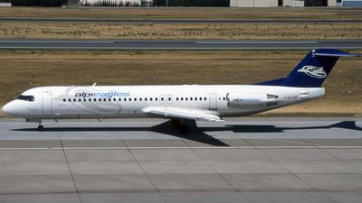 I-ALPQ - Fokker 100 - Alpi Eagles