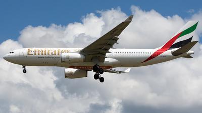 A6-EKX - Airbus A330-243 - Emirates
