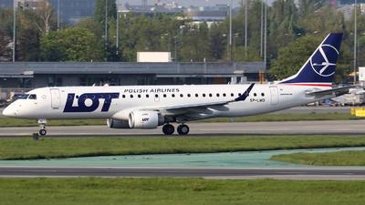 SP-LMD - Embraer 190-100STD - LOT Polish Airlines