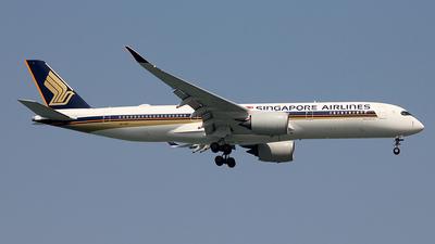 9V-SGC - Airbus A350-941 - Singapore Airlines