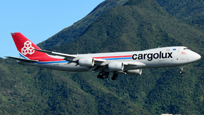 A picture of LXVCK - Boeing 7478R7(F) - Cargolux - © CK NG