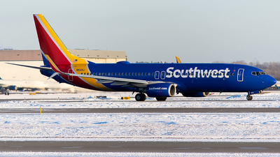 A picture of N8301J - Boeing 7378H4 - Southwest Airlines - © John Newsome