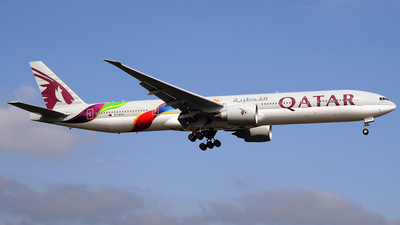A7-BAX - Boeing 777-3DZER - Qatar Airways