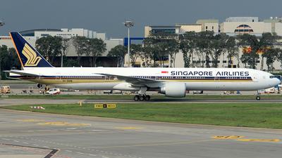 9V-SWB - Boeing 777-312ER - Singapore Airlines