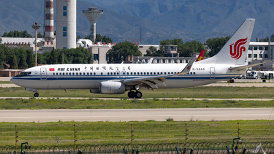 B-5343 - Boeing 737-89L - Air China