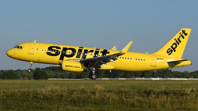 N626NK - Airbus A320-232 - Spirit Airlines