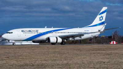 A picture of 4XEKU - Boeing 7378Z9 - El Al - © Cibulka Tomas
