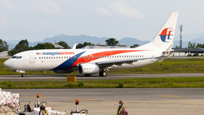 9M-MLN - Boeing 737-8H6 - Malaysia Airlines