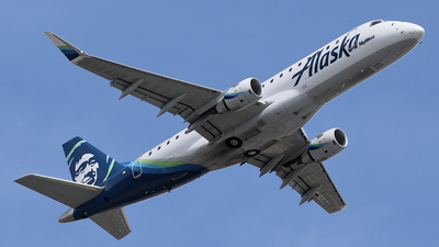 N187SY - Embraer 170-200LR - Alaska Airlines (Skywest Airlines)