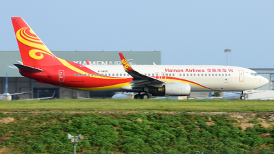 A picture of B5405 - Boeing 73784P - Hainan Airlines - © D_Y6888