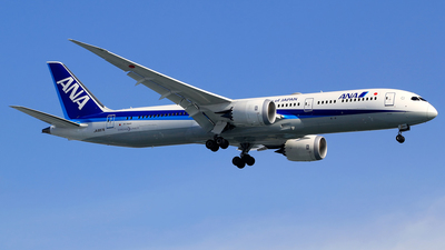 JA887A - Boeing 787-9 Dreamliner - All Nippon Airways (ANA)