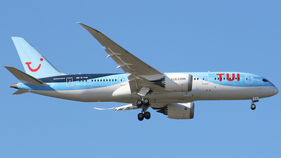 A picture of GTUII - Boeing 7878 Dreamliner - TUI fly - © paulo carvalho