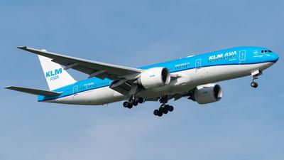 PH-BQM - Boeing 777-206(ER) - KLM Royal Dutch Airlines