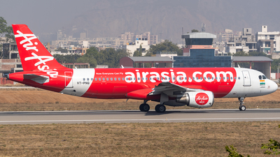 A picture of VTPNQ - Airbus A320216 - AirAsia - © Rohan Paliwal