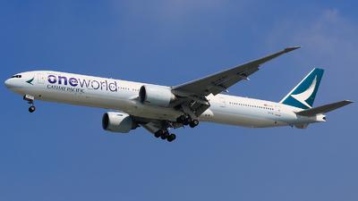 B-KQI - Boeing 777-367ER - Cathay Pacific Airways