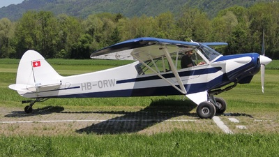 HB-ORW - Piper PA-18-180M Super Cub - Private