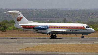 3D-ALN - Fokker F28-3000 Fellowship - Royal Swazi National Airways