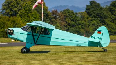 D-EJFA - Piper J-5A Cub Cruiser - Flugsportclub Aschaffenburg-Großostheim