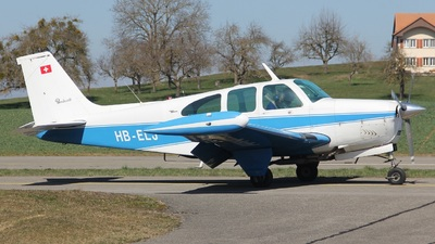 HB-ELJ - Beechcraft 35-C33A Bonanza - Private
