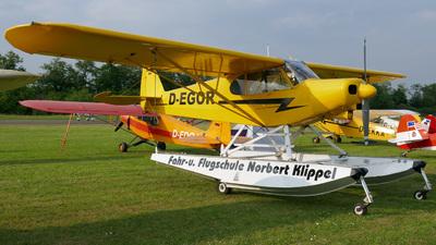 D-EGOR - Piper PA-18-180M Super Cub - Fahr- und Flugschule Norbert Klippel