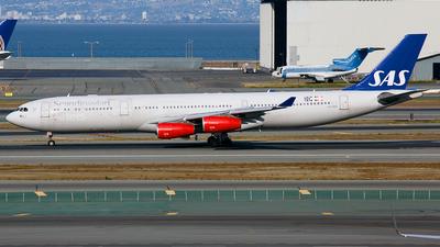 LN-RKG - Airbus A340-313X - Scandinavian Airlines (SAS)