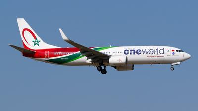 CN-RGJ - Boeing 737-8B6 - Royal Air Maroc (RAM)