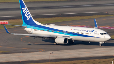 A picture of JA72AN - Boeing 737881 - All Nippon Airways - © Yukio023