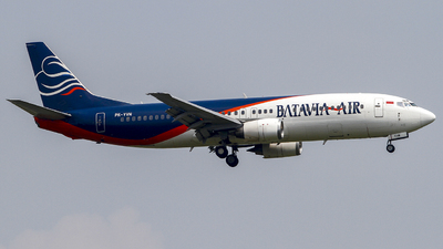 PK-YVN - Boeing 737-48E - Batavia Air