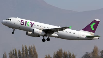 CC-ABW - Airbus A320-233 - Sky Airline