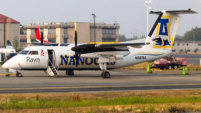 A picture of N887EA - De Havilland Canada Dash 8100 - [351] - © Alex Crail