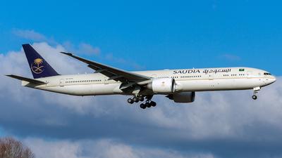 HZ-AK44 - Boeing 777-368ER - Saudi Arabian Airlines