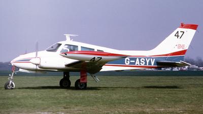 G-ASYV - Cessna 310G - Private