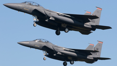 91-0320 - McDonnell Douglas F-15E Strike Eagle - United States - US Air Force (USAF)