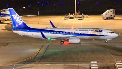 A picture of JA83AN - Boeing 737881 - All Nippon Airways - © Kei -Danadinho AviãoSpotter-