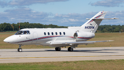 N438PM - Raytheon Hawker 800XP - Private