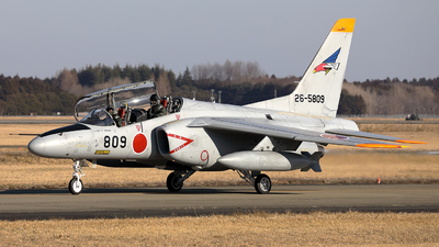 26-5809 - Kawasaki T-4 - Japan - Air Self Defence Force (JASDF)