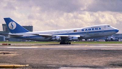 OO-SGA - Boeing 747-129(M) - Sabena