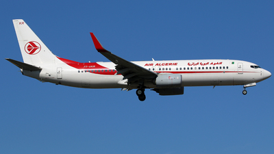 A picture of 7TVKR - Boeing 7378D6 - Air Algerie - © Brian T Richards
