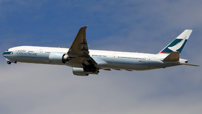 B-KPD - Boeing 777-367ER - Cathay Pacific Airways