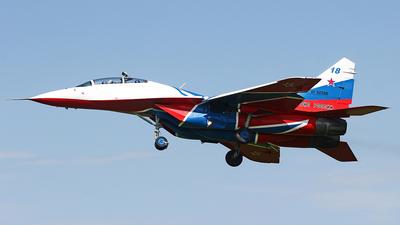 RF-92300 - Mikoyan-Gurevich MiG-29UB Fulcrum - Russia - Air Force