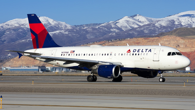 A picture of N319NB - Airbus A319114 - Delta Air Lines - © Michael Rodeback