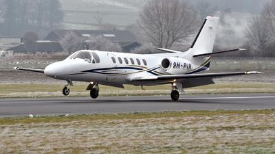 9H-PIK - Cessna 550 Citation II - Private