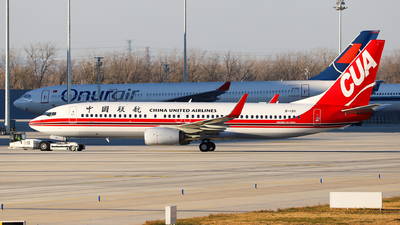 B-1311 - Boeing 737-89P - China United Airlines