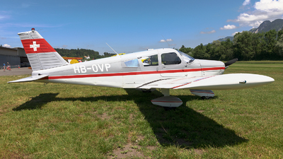 HB-OVP - Piper PA-28-160 Cherokee - Private