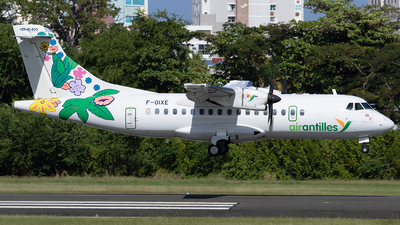A picture of FOIXE - ATR 42500 - Air Antilles - © Angel Natal